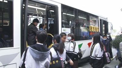 台中市火車轉乘公車免費10/1上路 鼓勵民眾搭乘大眾運輸