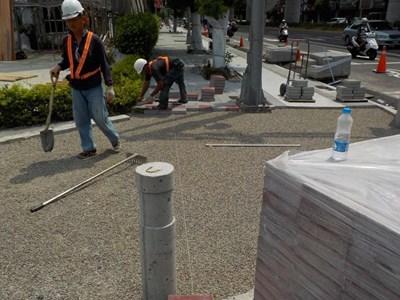 文心路人行道「會呼吸」 市府持續強化「海綿城市」能量對抗強降雨趨勢