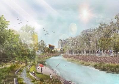 中市惠來溪、潮洋溪水水質淨化及環境景觀工程 打造永續水環境